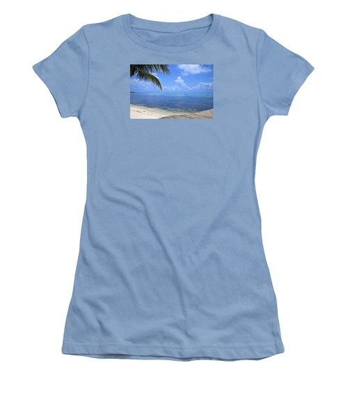 Down Island Women's T-Shirt (Athletic Fit)