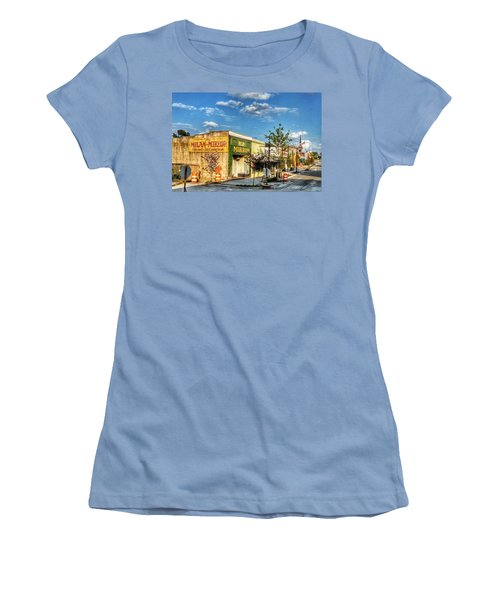 Downtown Milan Women's T-Shirt (Athletic Fit)