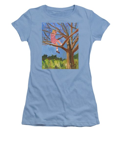 Easter In The Apple Tree Women's T-Shirt (Athletic Fit)