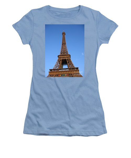 Eiffel Tower 2005 Ville Candidate Women's T-Shirt (Athletic Fit)