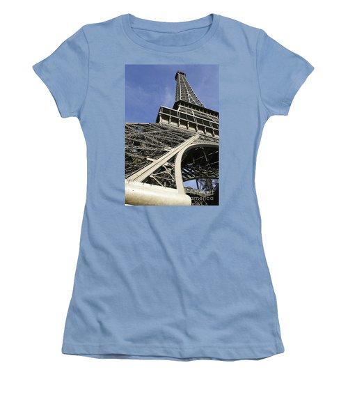 Eiffel Tower Women's T-Shirt (Junior Cut) by Belinda Greb