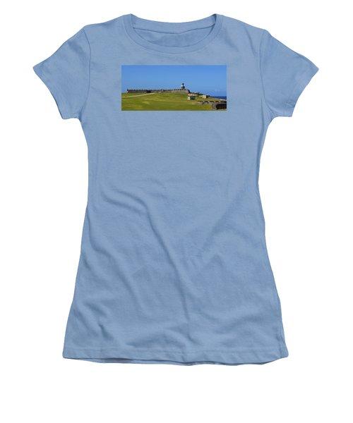El Morro Panorama Women's T-Shirt (Athletic Fit)