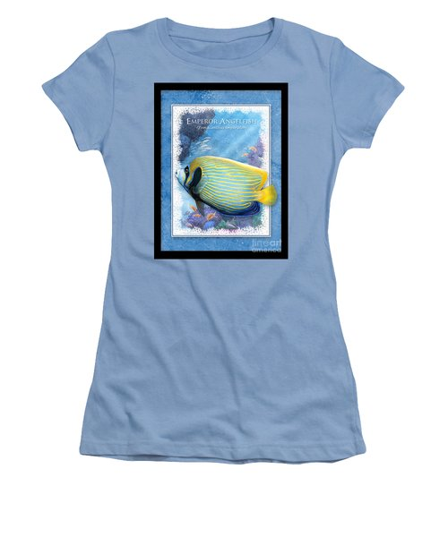 Emperor Angelfish Women's T-Shirt (Athletic Fit)