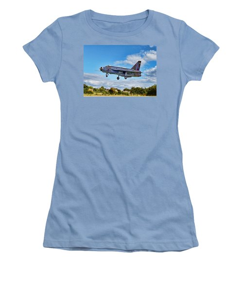 English Electric Lightning Women's T-Shirt (Athletic Fit)