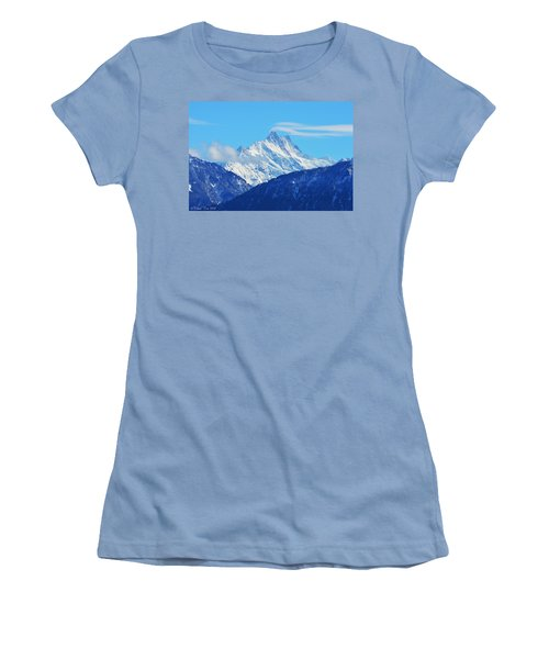 Fairy Tale In Alps Women's T-Shirt (Athletic Fit)