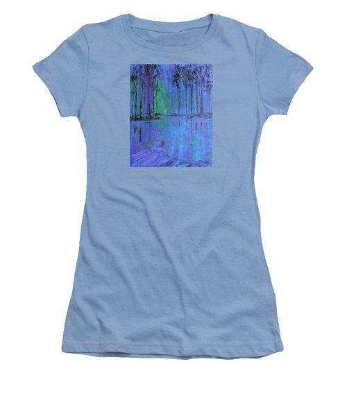 Fireflies Women's T-Shirt (Athletic Fit)