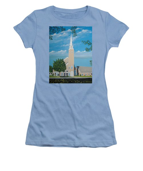 First Congregational Church Women's T-Shirt (Athletic Fit)