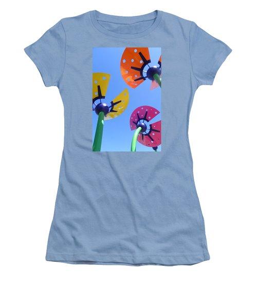 Flower Sculpture Women's T-Shirt (Athletic Fit)