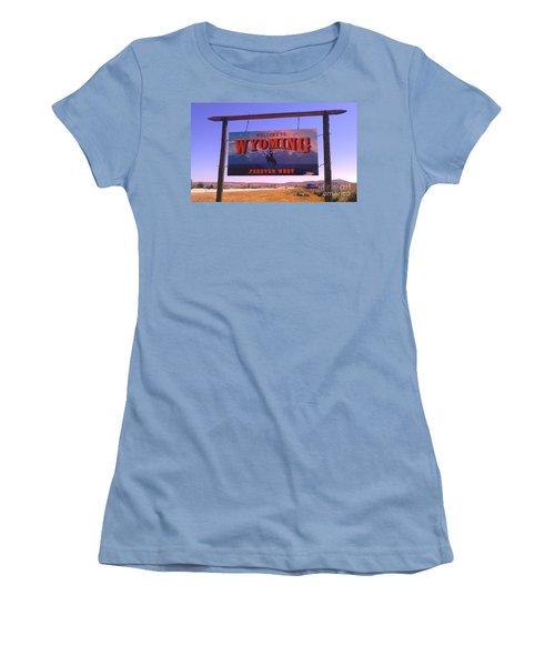 Forever West Women's T-Shirt (Junior Cut) by Chris Tarpening