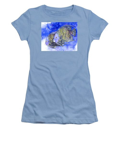 French Angelfish Women's T-Shirt (Athletic Fit)