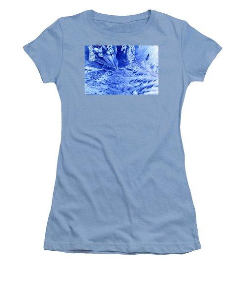 Women's T-Shirt (Junior Cut) featuring the digital art Frocean by Richard Thomas