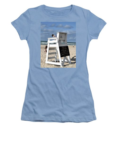 Future Life Guards Women's T-Shirt (Athletic Fit)
