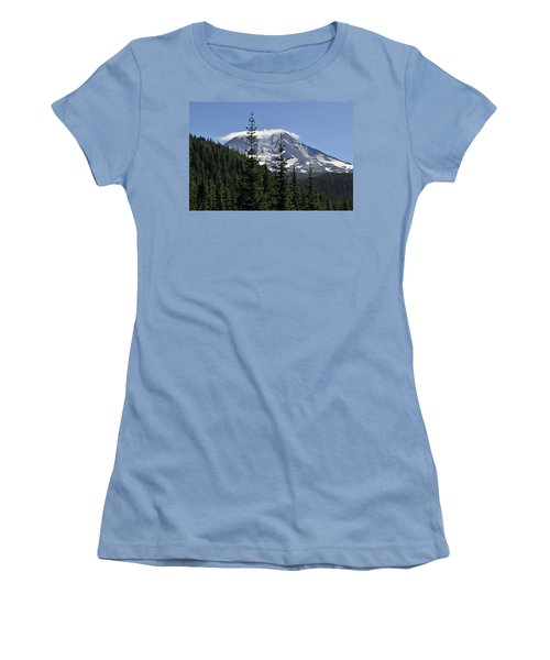 Gifford Pinchot National Forest And Mt. Adams Women's T-Shirt (Junior Cut) by Tikvah's Hope