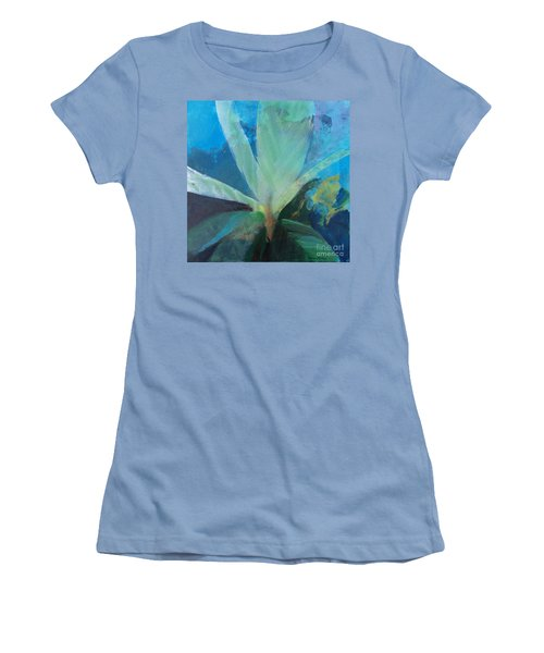 Women's T-Shirt (Junior Cut) featuring the painting Ginger Tea by Robin Maria Pedrero