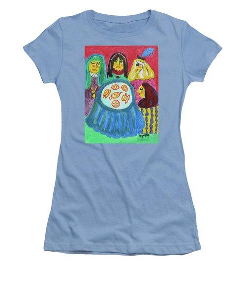 Girlfriends Women's T-Shirt (Junior Cut) by Diane Pape