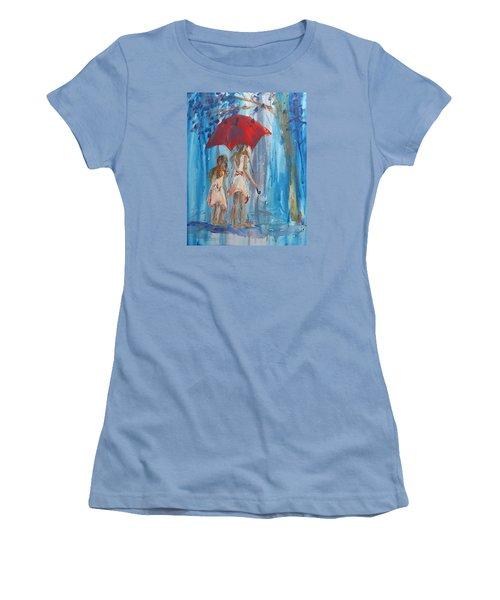 Give Me Shelter Women's T-Shirt (Junior Cut) by Terri Einer