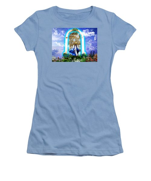 Glory Portal  Women's T-Shirt (Athletic Fit)