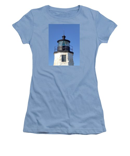 Goat Island Lighthouse Women's T-Shirt (Athletic Fit)