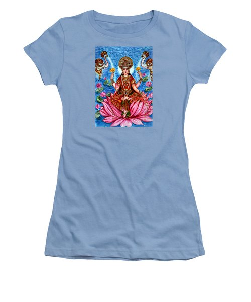 Goddess Lakshmi Women's T-Shirt (Junior Cut)