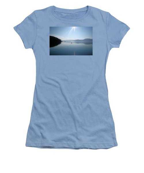 Women's T-Shirt (Junior Cut) featuring the photograph Gokova Bay  by Tracey Harrington-Simpson