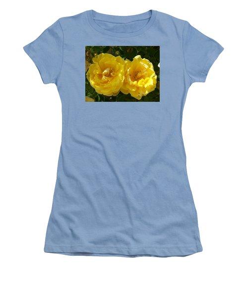 Women's T-Shirt (Junior Cut) featuring the photograph Golden Beauty by Jewel Hengen
