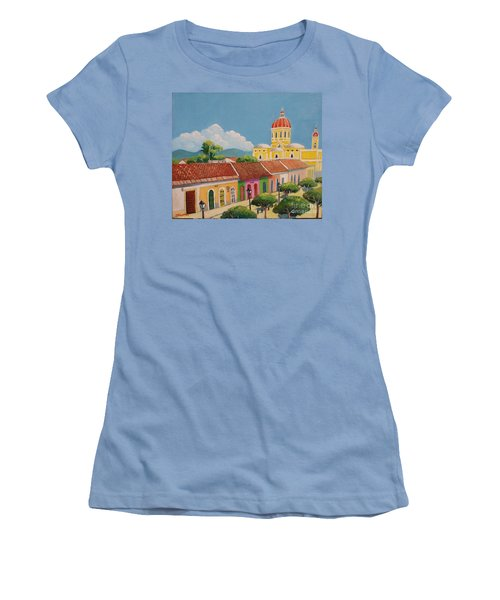 Granada Cathedral Women's T-Shirt (Athletic Fit)