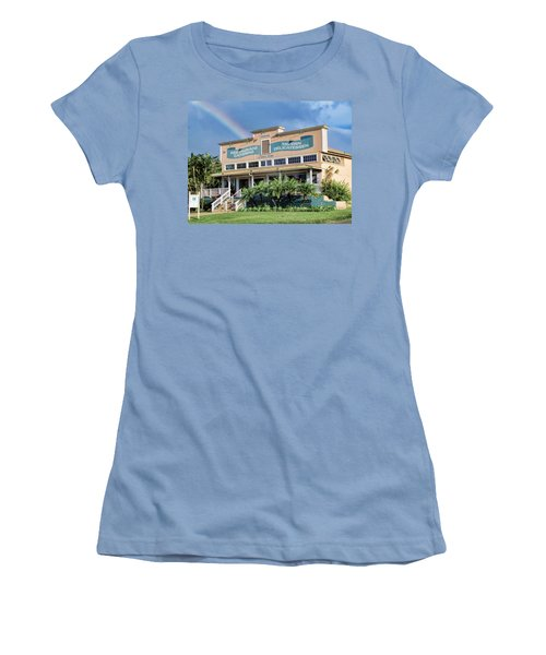 Women's T-Shirt (Junior Cut) featuring the photograph Haliimaile General Store 1 by Dawn Eshelman