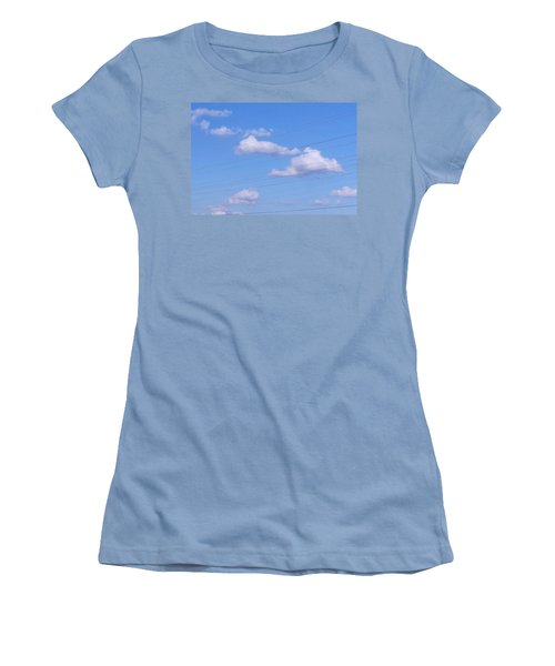 Happy Cloud Day Women's T-Shirt (Athletic Fit)