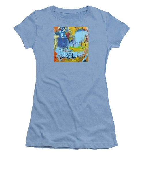 Heart 3 Women's T-Shirt (Athletic Fit)