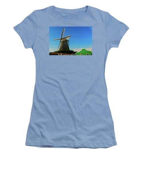 Women's T-Shirt (Junior Cut) featuring the photograph Het Jonge Schaap by Jonah  Anderson