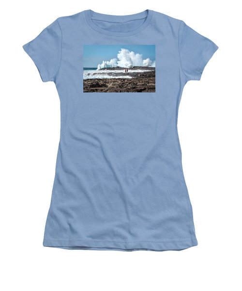 In Over Their Heads Women's T-Shirt (Athletic Fit)