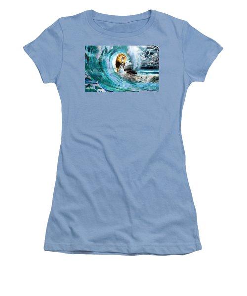 Holy Roar Women's T-Shirt (Athletic Fit)