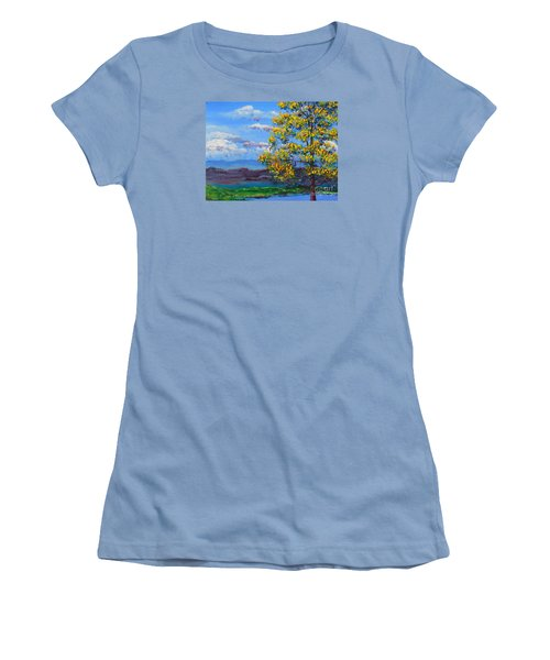 How Lovely Is Your Dwelling Place Women's T-Shirt (Junior Cut) by Dan Whittemore