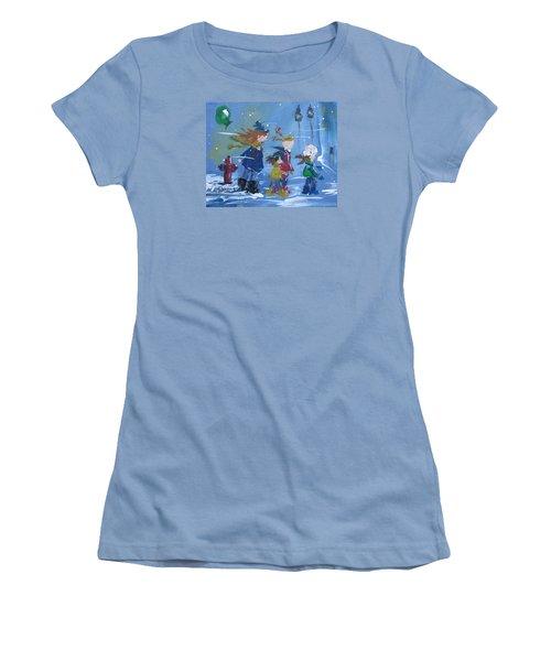 Hurry Home Women's T-Shirt (Junior Cut) by Terri Einer