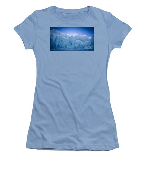 Ice Castle Women's T-Shirt (Athletic Fit)