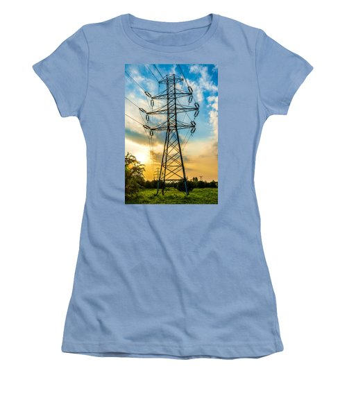 In Chains Women's T-Shirt (Athletic Fit)