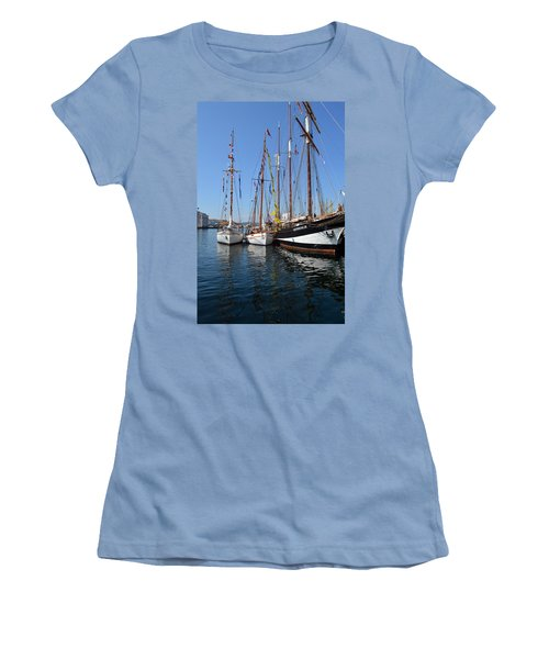 International Sailing Festival In Bergen Norway 2 Women's T-Shirt (Athletic Fit)