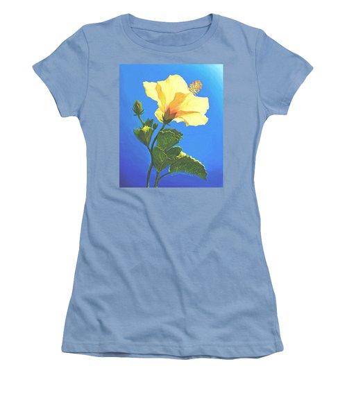 Into The Light Women's T-Shirt (Junior Cut) by Sophia Schmierer