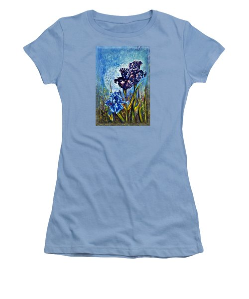Iris Women's T-Shirt (Junior Cut) by Harsh Malik