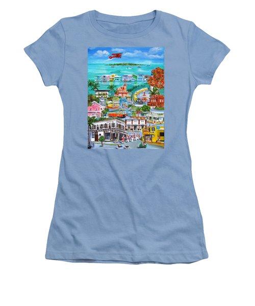 Island Daze Women's T-Shirt (Athletic Fit)