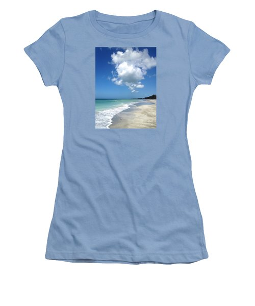 Women's T-Shirt (Junior Cut) featuring the photograph Island Escape  by Margie Amberge