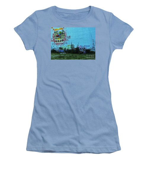 Joga Bonito - The Beautiful Game Women's T-Shirt (Junior Cut) by Andy Prendy