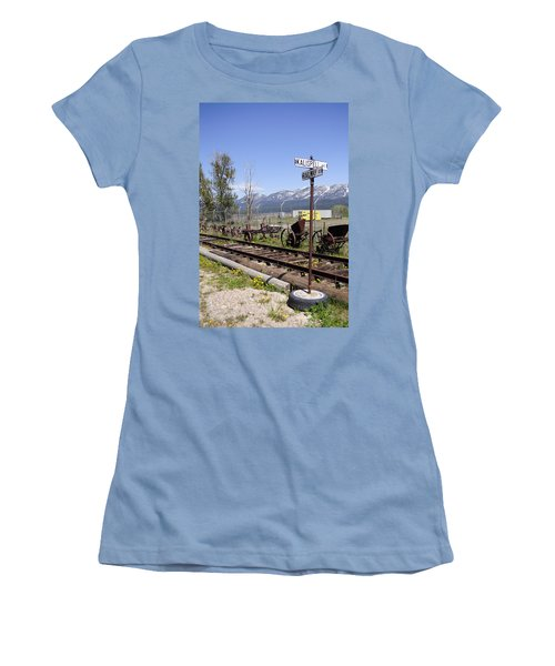 Kalispell Crossing Women's T-Shirt (Athletic Fit)