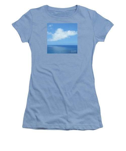 Women's T-Shirt (Junior Cut) featuring the photograph Kauai Blue by Joseph J Stevens