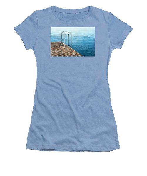 Ladder Women's T-Shirt (Junior Cut) by Chevy Fleet