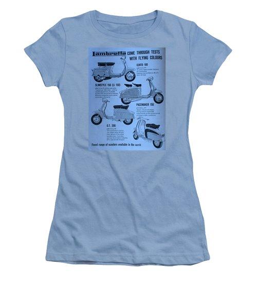 Lambretta Style Women's T-Shirt (Athletic Fit)