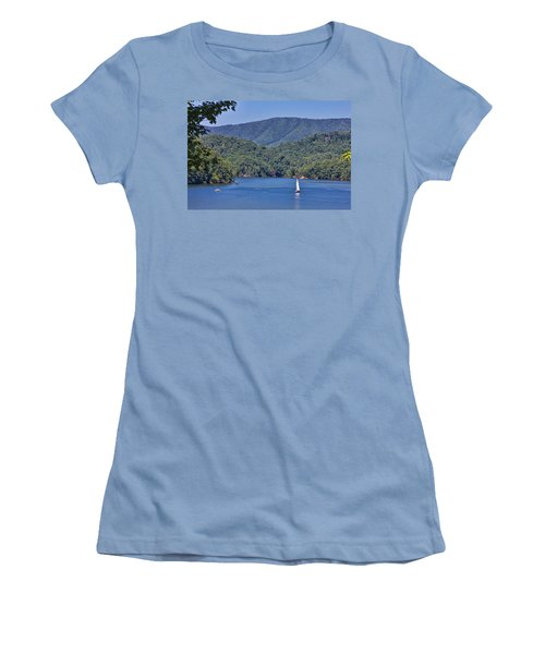 Late Summer Cruising  Women's T-Shirt (Athletic Fit)