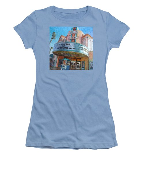Lido Theater Women's T-Shirt (Athletic Fit)