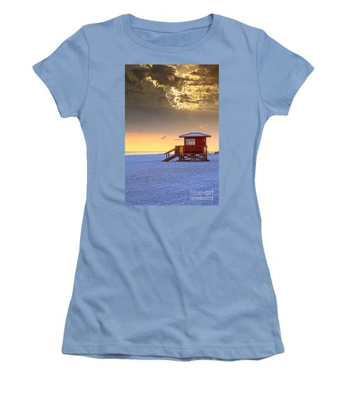 Life Guard 1 Women's T-Shirt (Athletic Fit)