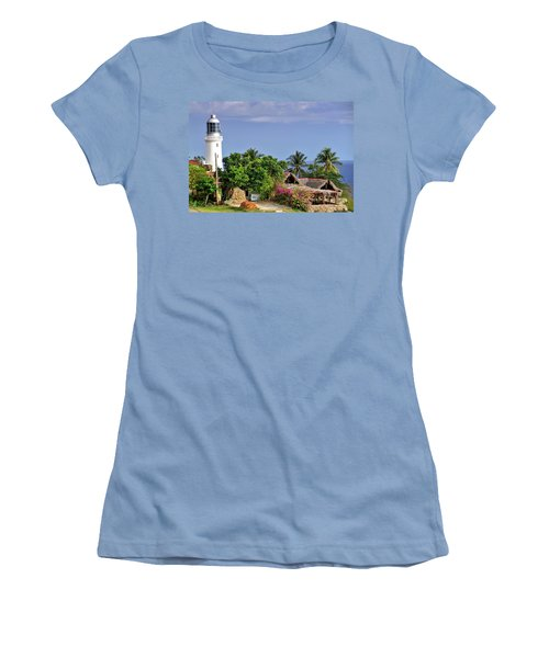 Lighthouse Santiago De Cuba Women's T-Shirt (Athletic Fit)